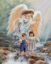 Meu anjo da guarda, meu espirito protetor...