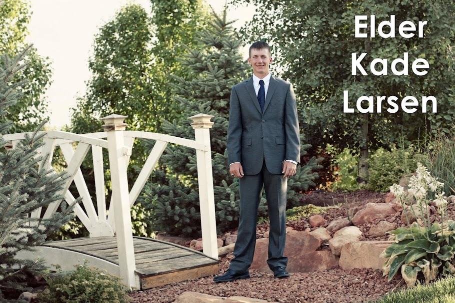 Elder Kade Larsen