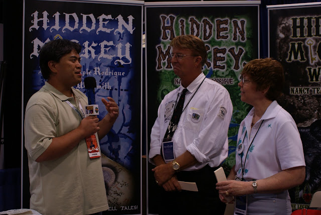 Hidden Mickey Adventure Novelists David W. Smith and Nancy Temple Rodrigue on Sorcerer Radio 9/9