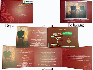 wedding invitation bandung