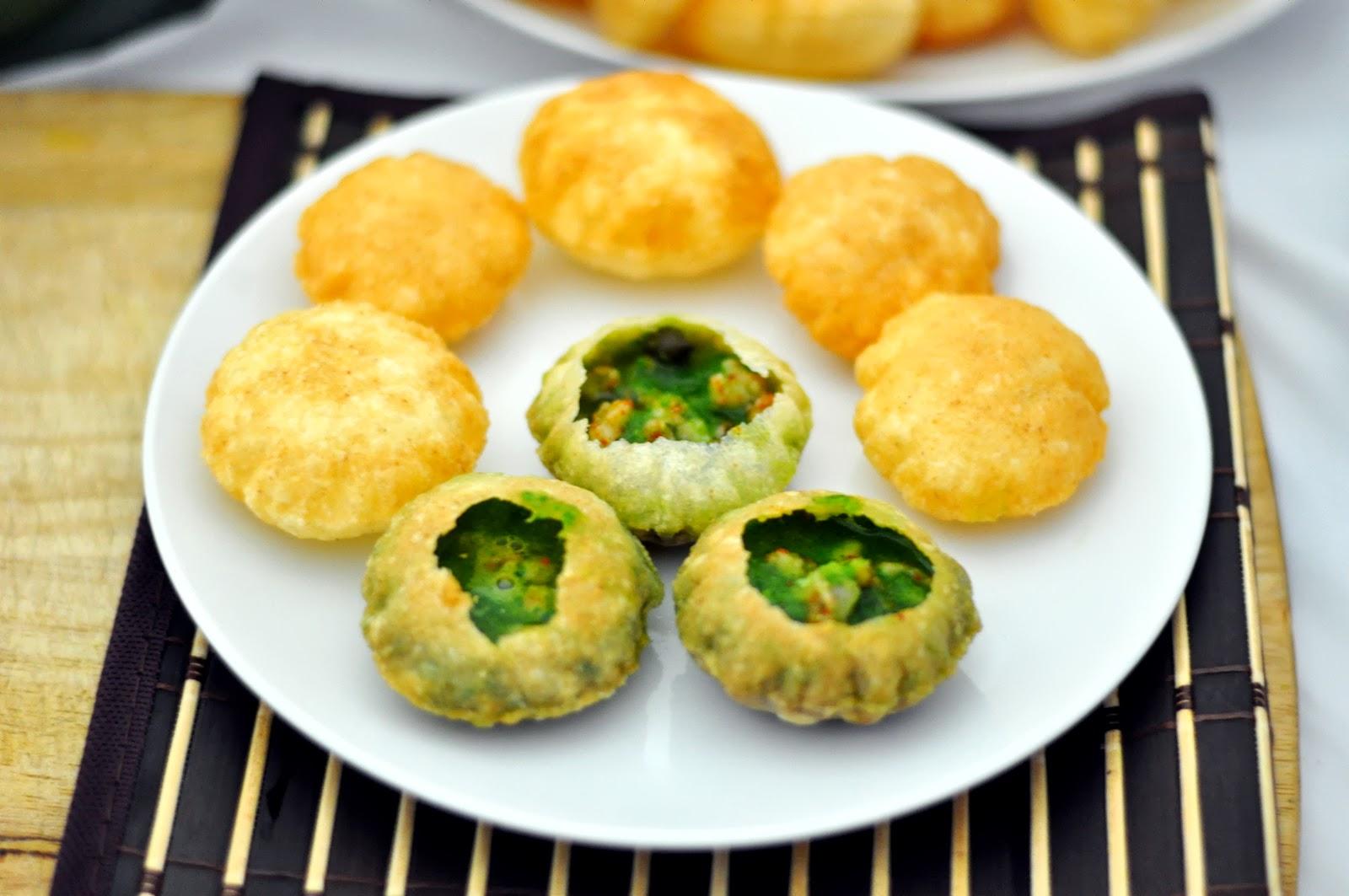 Puri Indian Food