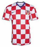 Euro 2012 Croatia Home Jersey