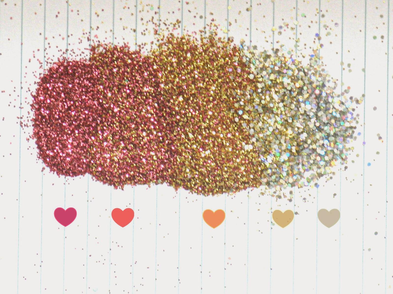 Glitter Ombre Wallpaper