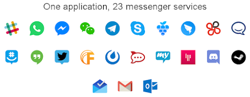 support aplikasi messenger