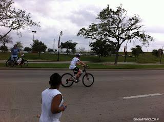 Houston Kids Triathlon senior division bike