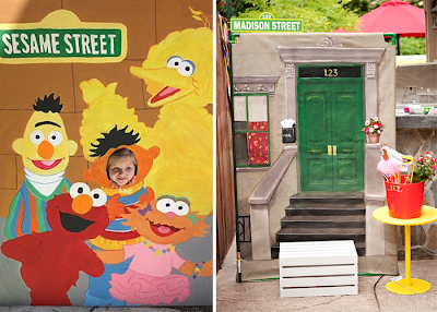 Sesame Street Birthday Party Ideas and Decorations