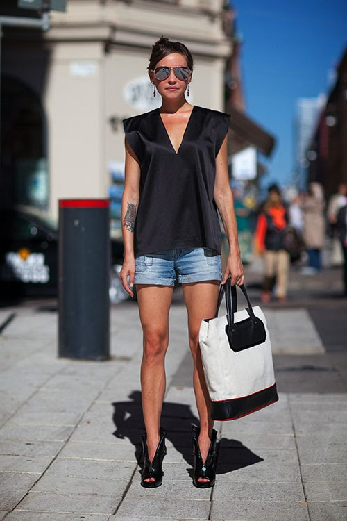 Fashion Week 2014 Street Style
