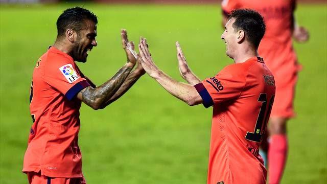 برشلونة وليفانتي 5-0