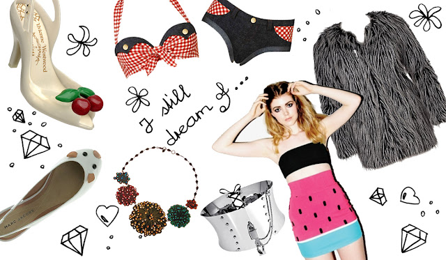Tatty Devine, Melissa, Marc Jacobs, Agent Provocateur, Lazy Oaf, D&G