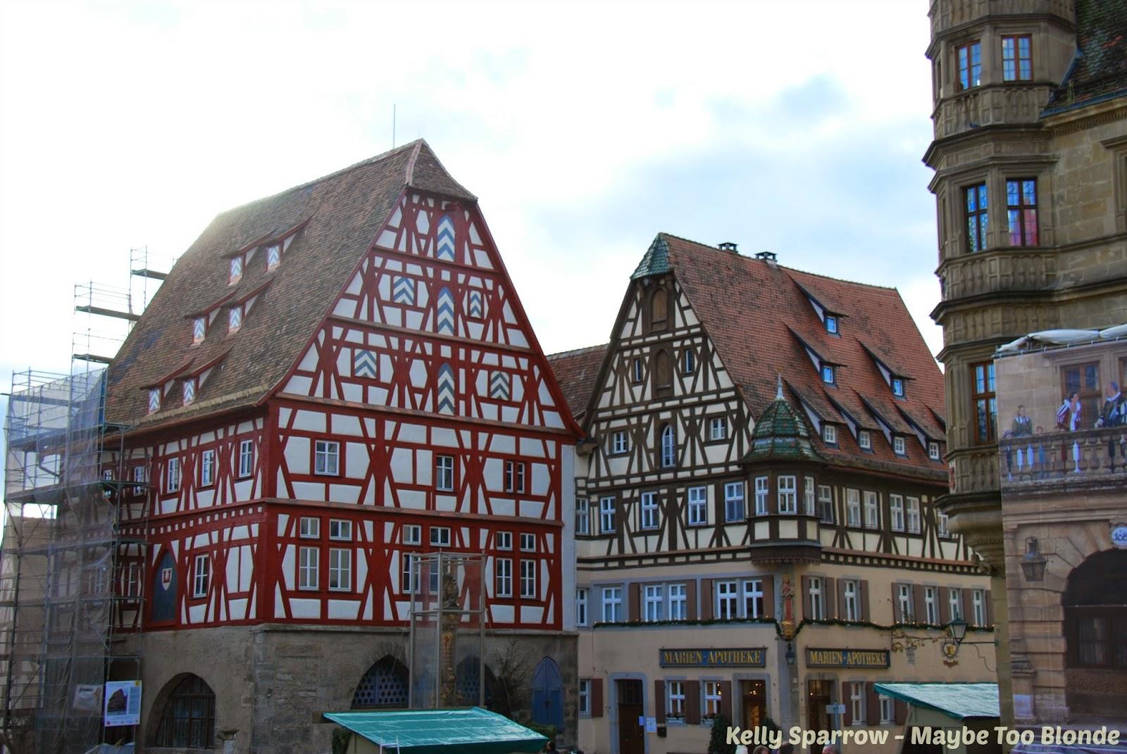 Rothenburg ob der Tauber at Christmas