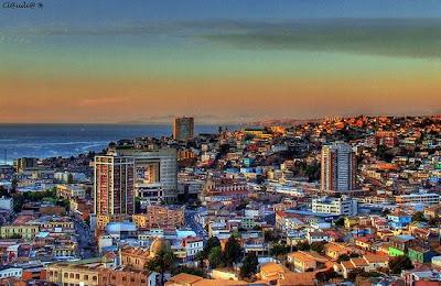 Najživopisniji gradovi - Uzbudljiva eksplozija boja Valparaiso