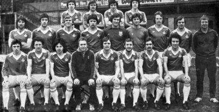 Wrexham fc 1977 / 78