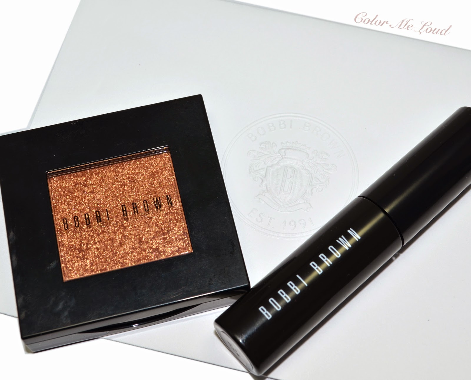 Bobbi Brown Natural Brow Shaper In Slate And Sparkle Eye Shadow 31