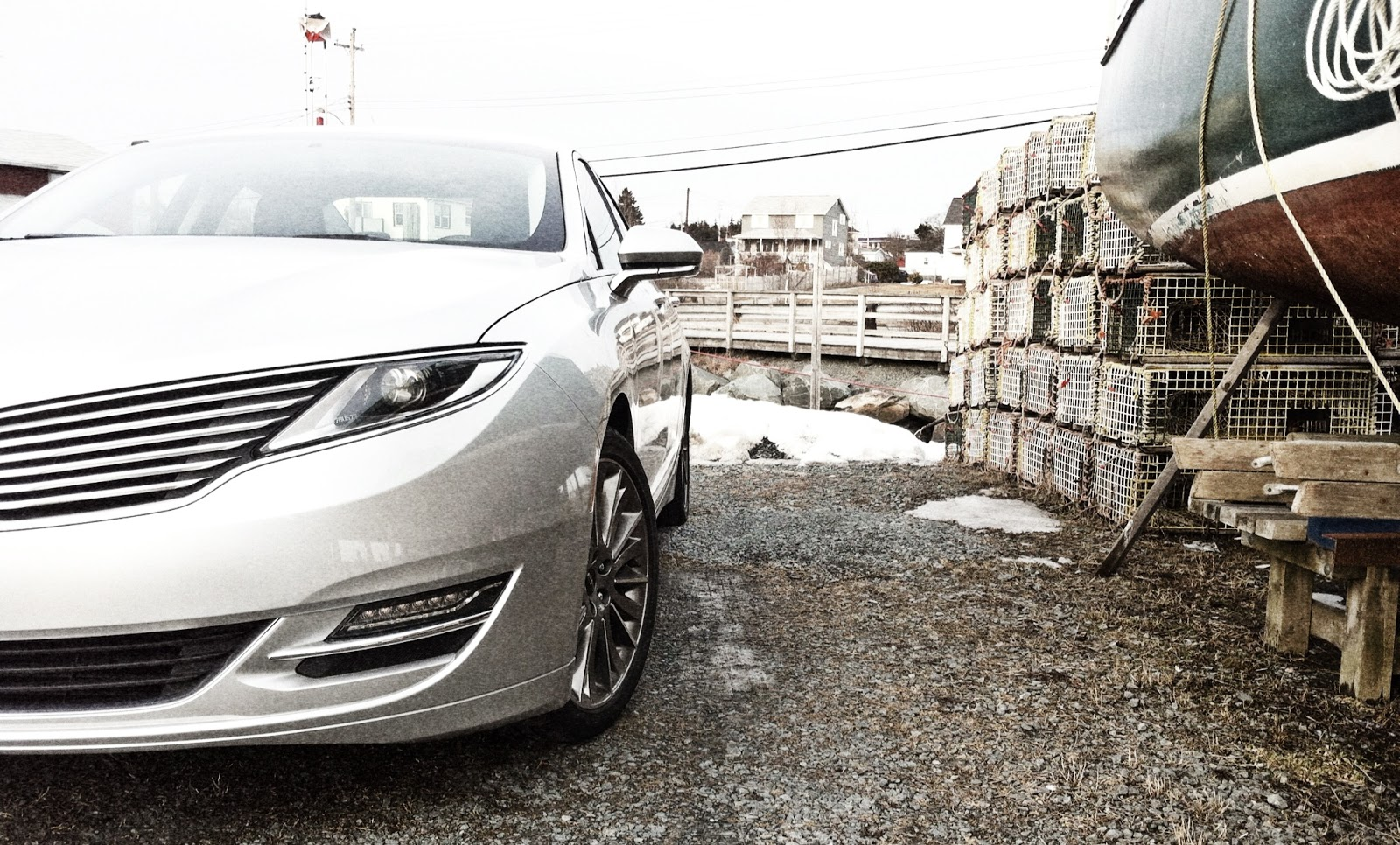 2014 Lincoln MKZ Hybrid grille