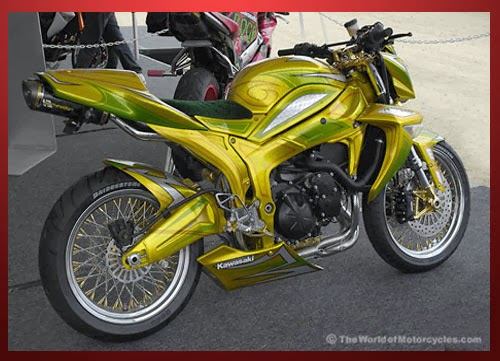 Foto Modifikasi Honda Tiger Airbrush 2014