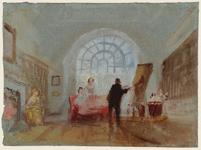 Turner - l'artiste et ses admirateurs,1827