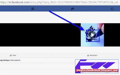 cara download video di facebook  dengan save video as