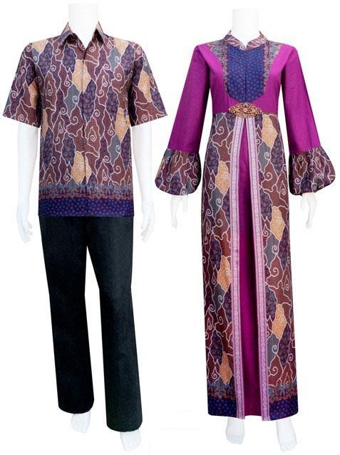 Sarimbit Gamis batik katun