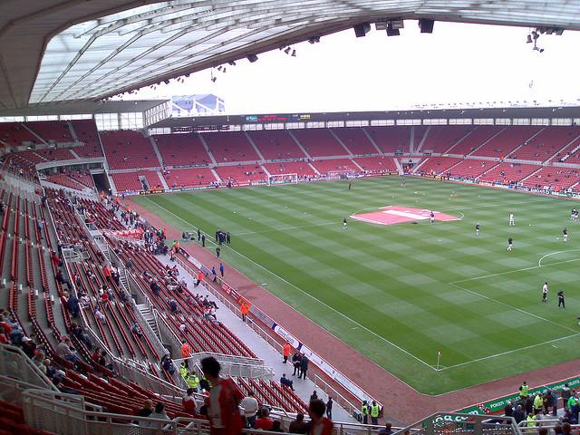 HOME OF SPORTS: Riverside Stadium