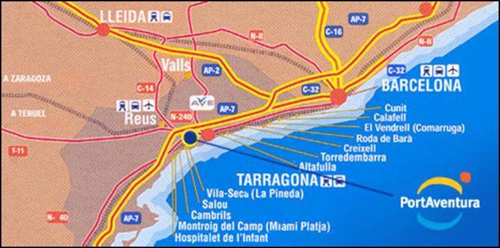 Le Monde Ordinaire DAnachronistik Mes Vacances à Port Aventura - Sejour port aventura