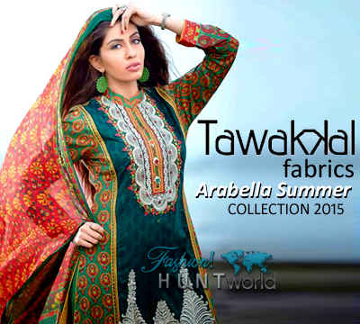 Tawakkal Fabrics Arabella Summer Collection 2015