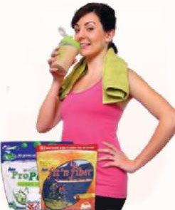 AIM ProPeas® and AIM fit 'n fiber® Shake