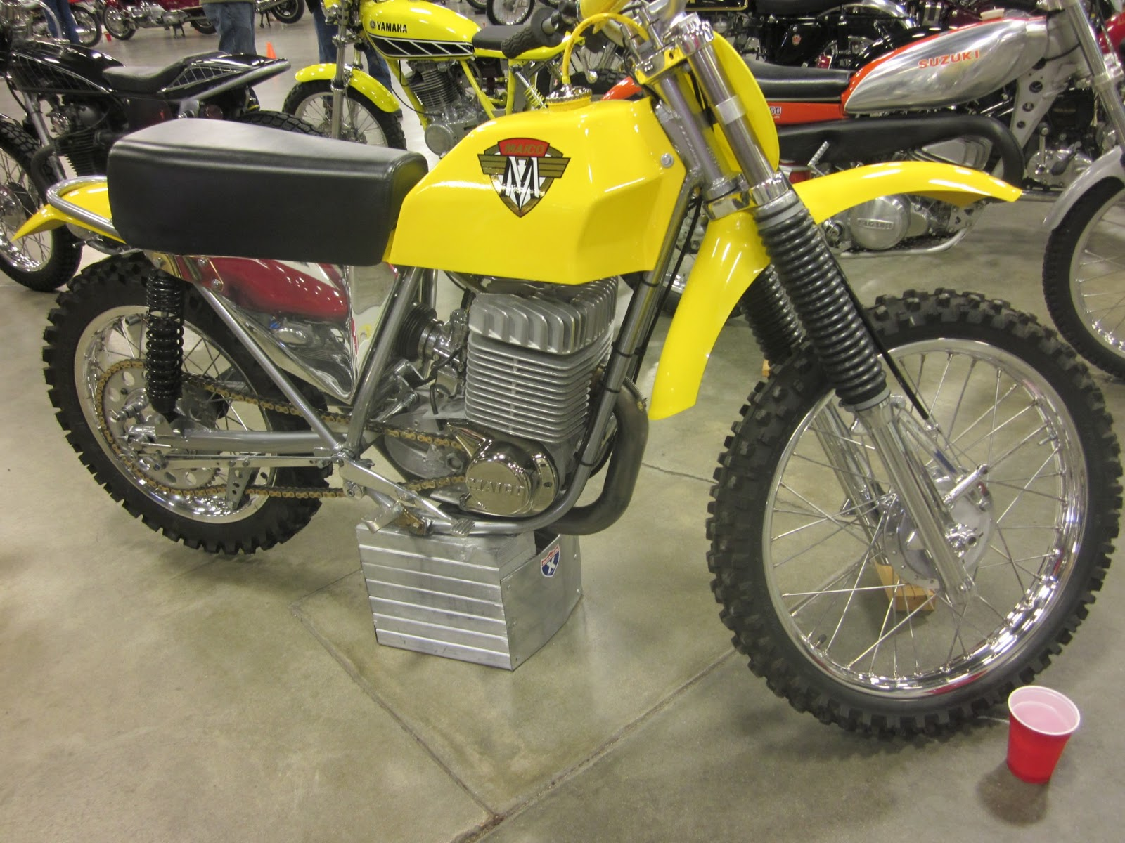 Oldmotodude 1971 Maico Mx400 On Display At The 2013 Idaho