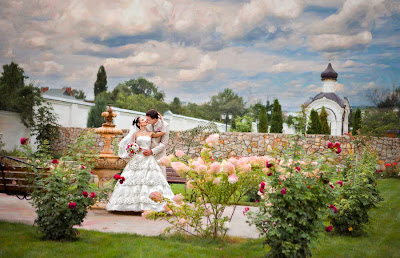 Beautiful Wedding At Park