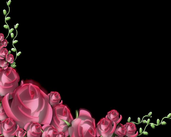 Marcos png con flores - Imagui