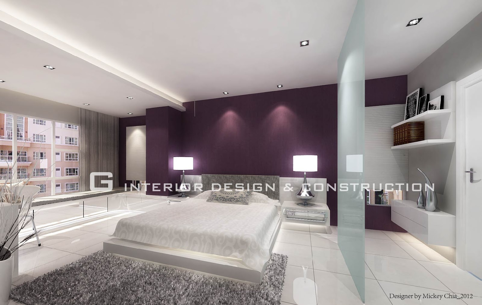 Interior design mont kiara condo for Condo interior design