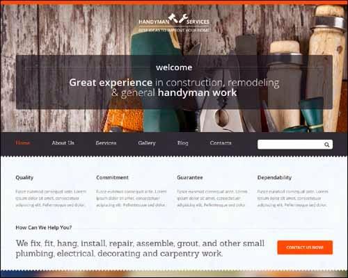 Home Repairs Premium Responsive Joomla Template