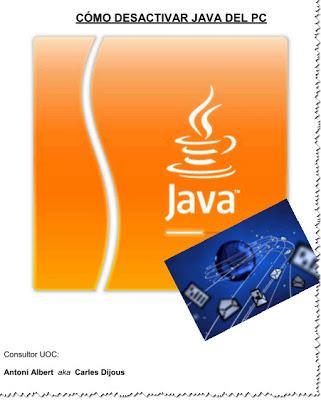 Desactivar Java del PC