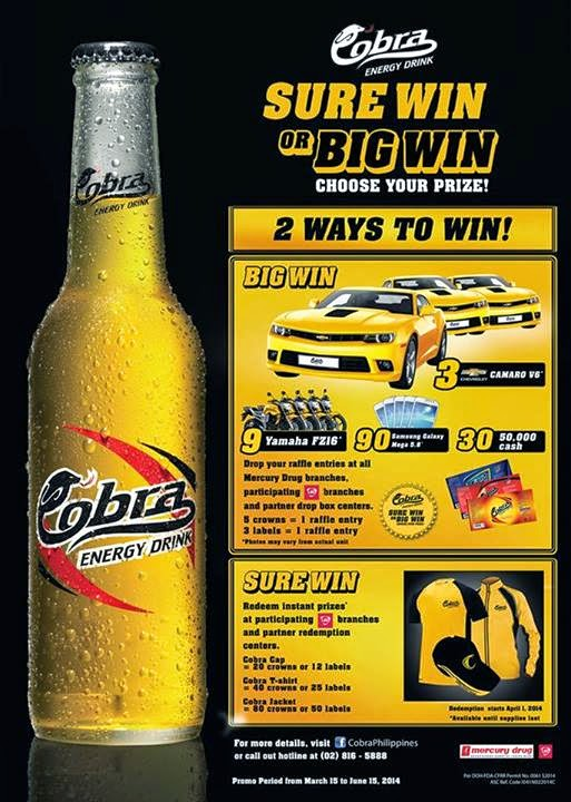 Win a Chevrolet Camaro from Cobra ~ My Mission : Win a Car