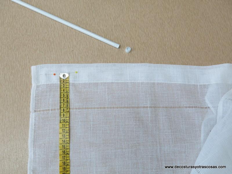 Como hacer cortinas store top estores enrollables - Como hacer visillos ...