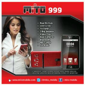 Mito 999 - Harga Hp Tablet Mini Mito