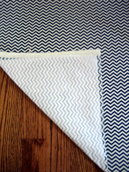 chevron interfacing