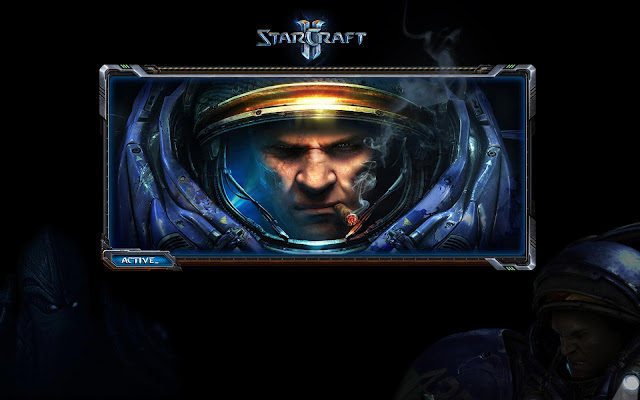 Starcraft 2 Game Wallpaper