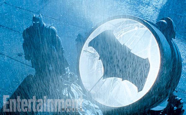 La Batseñal hace acto de presencia en Batman V Superman