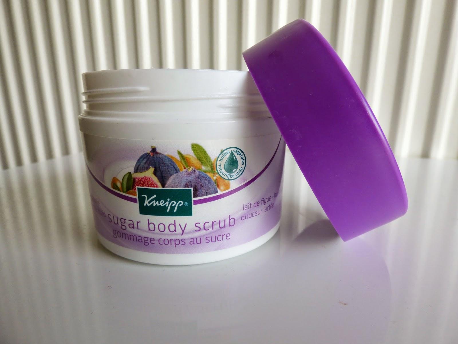 sugar body scrub de KNEIPP