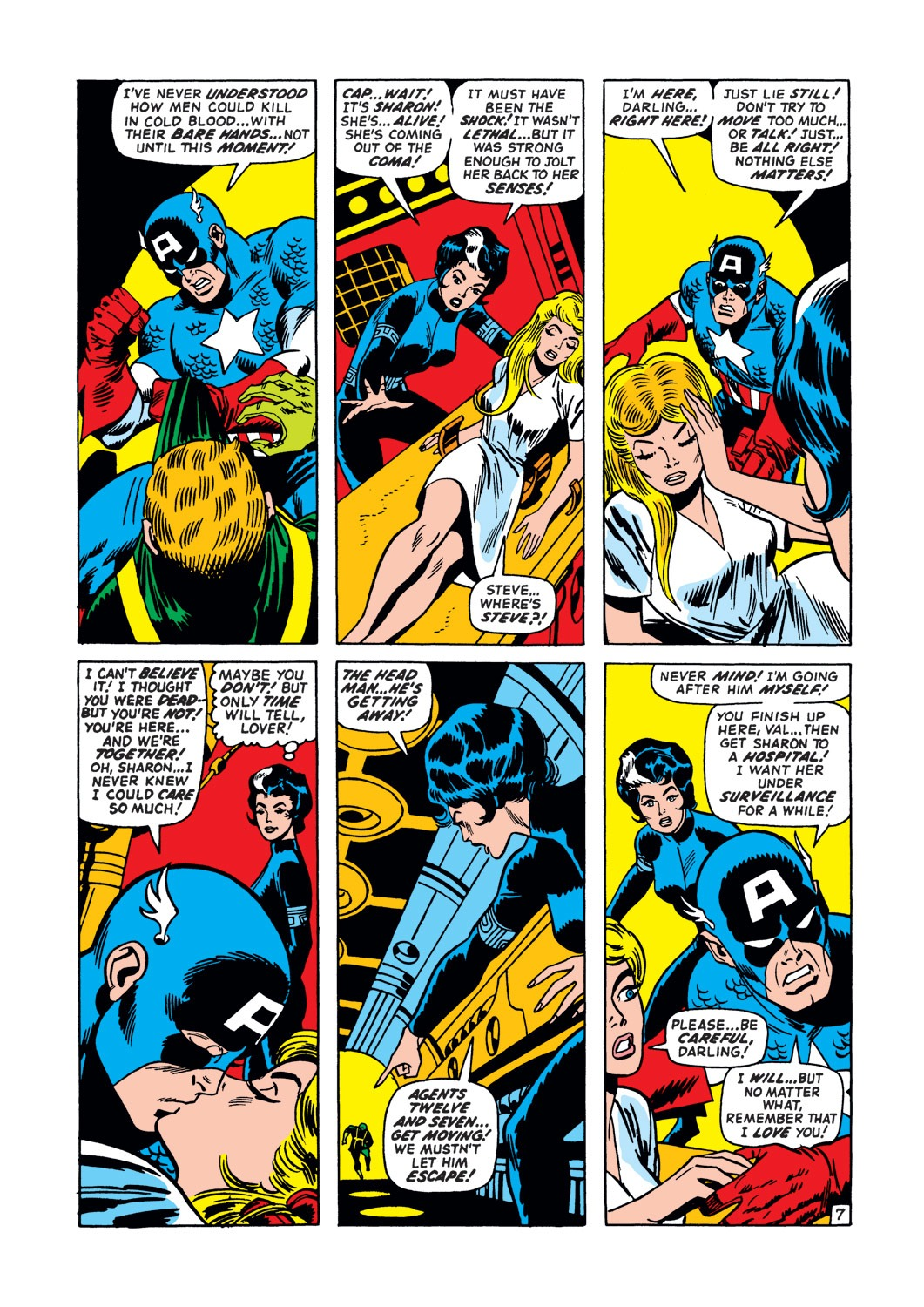 Captain America (1968) Issue #147 #61 - English 8