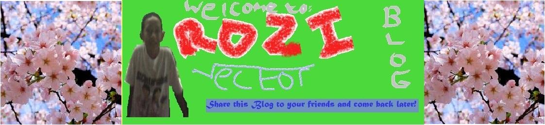 Rozi Berbagi video, foto dan tips yang hebat dan menarik!