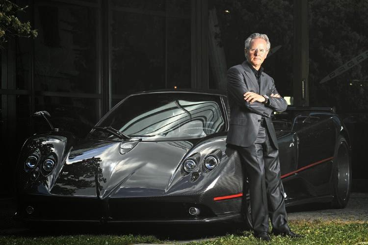 Prototype 0: Pagani recently sold some shares of Pagani Automobili