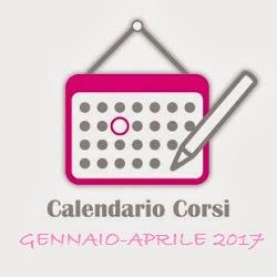 CALENDARIO CORSI Gennaio - Aprile 2017