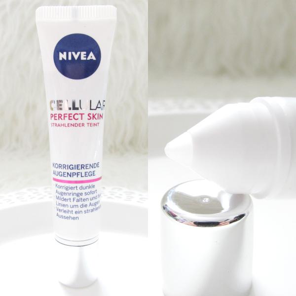 Nivea Cellular Perfect Skin - Korrigierende Augenpflege - review, testbericht, erfahrungen