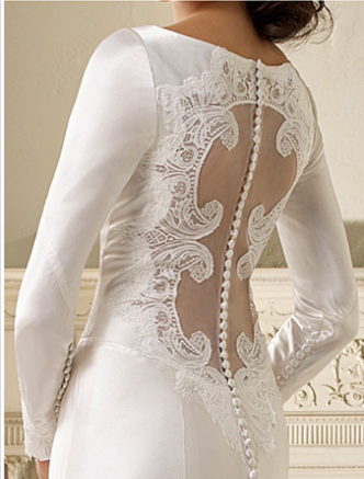 Celebrity twilight breaking dawn part 1 wedding dress for Bella twilight wedding dress