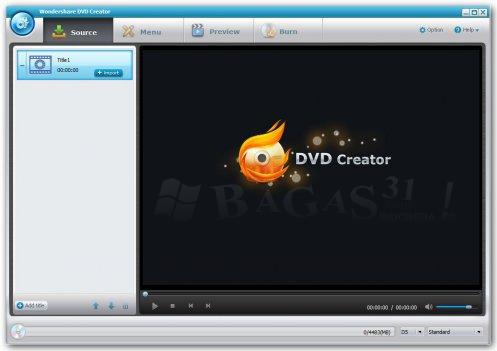 Wondershare DVD Creator 2.6.5.32 Full Serial 2