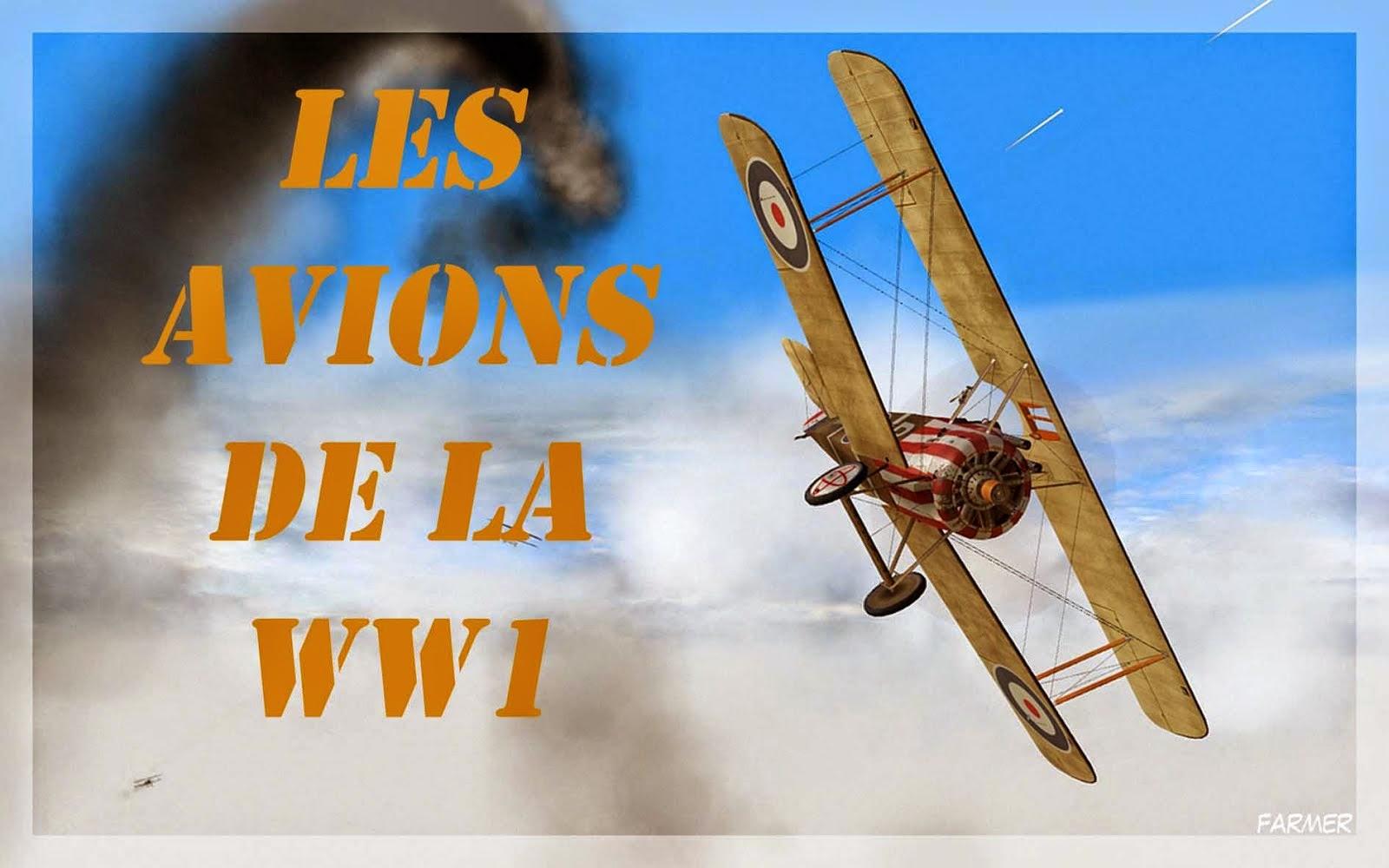 A découvrir série de livres sur les avions de la WW1