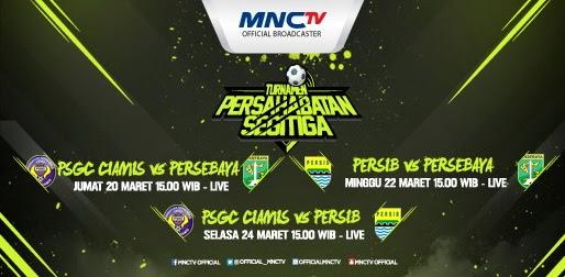 Jadwal dan Siaran TV Turnamen Segitiga Ciamis 2015