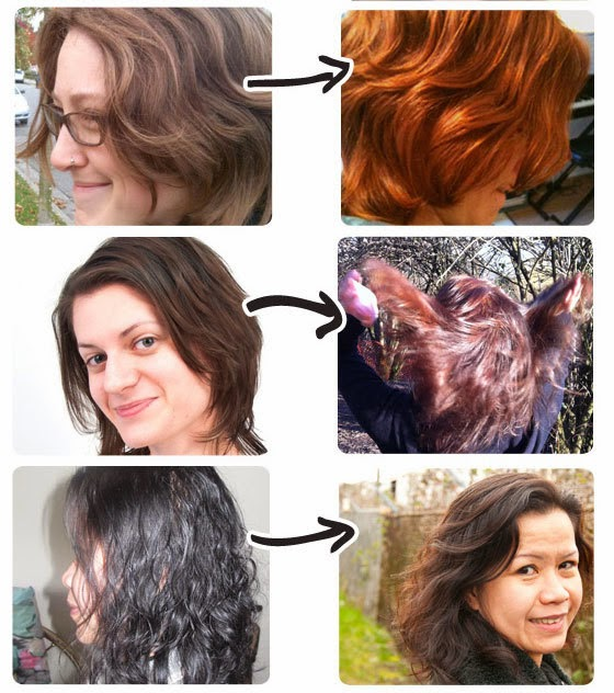 test av hårfarge