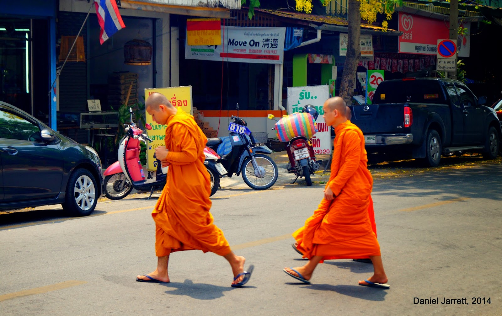 Monks of Thailand